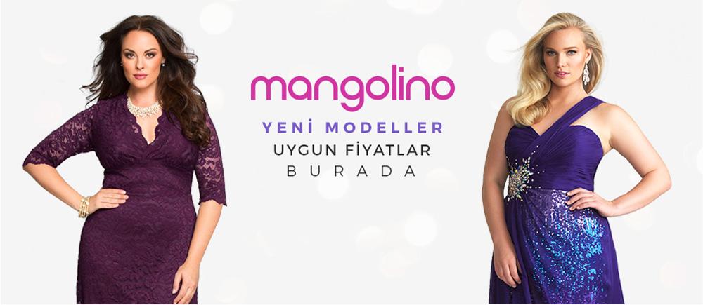 Mangolino Büyük Beden Elbise