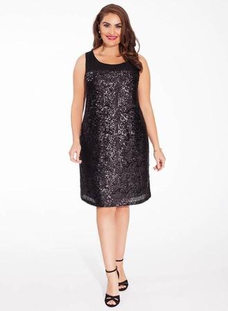 Mangolino Dress - OUTLET Fırsat Ürünü MDW17090 Büyük Beden Abiye Elbise (1)