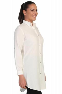 Lir - Kadın Gömlek Beyaz 4015 (1)