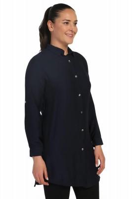 Lir - Kadın Gömlek Lacivert 4015 (1)