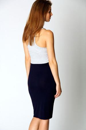 Mangolino Dress - OUTLET MANGOLİNO DRESS MD01 Büyük Beden Abiye Etek (1)