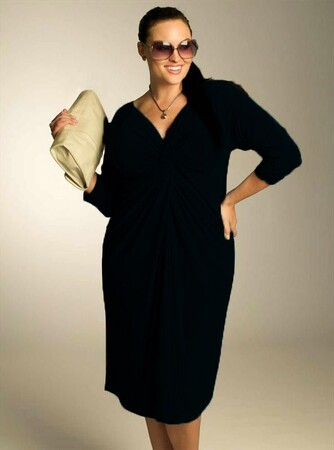 Mangolino Dress - OUTLET MANGOLİNO DRESS MDBS6186 Büyük Beden Abiye Elbise (1)