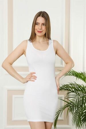 - Akbeniz Bayan Kalın Askılı Tunik Body 111B (1)