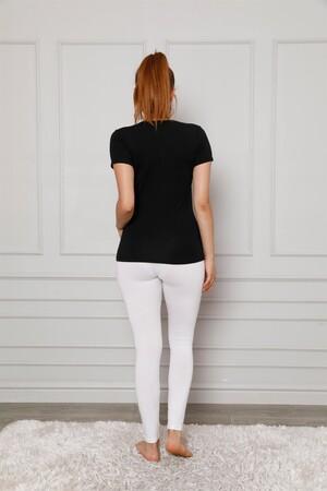 Angelino İç Giyim - Penye Likralı Tayt 5877P (1)