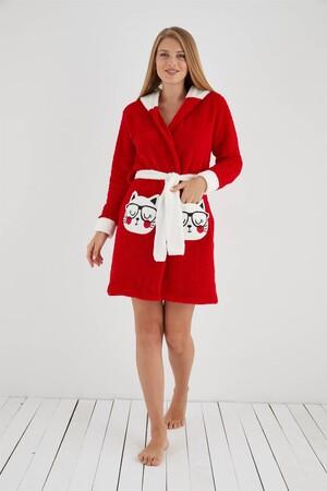 Angelino İç Giyim - Welsoft Polar Kadın Sabahlık 808005 (1)