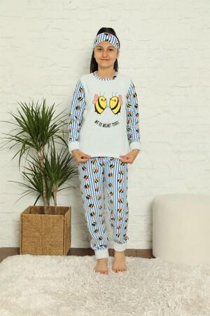 Angelino İç Giyim - WelSoft Polar Kız Çocuk Pijama Takımı 4579 (1)