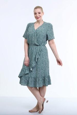 - Anvelop Fırfır Detaylı Elbise (1)