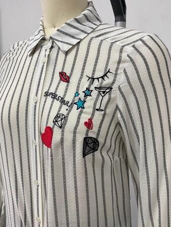 - Baskı Detaylı Gömlek Tunik (1)