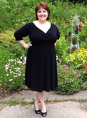 Mangolino Dress - Büyük Beden Elbise MDBS8003 (1)