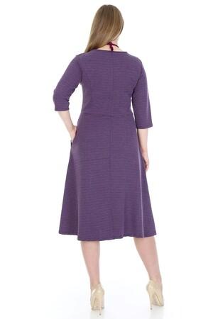 Angelino Fashion - Büyük Beden Cepli Elbise KL778-19czm (1)