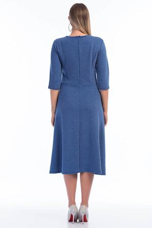 Angelino Butik - Büyük Beden Cepli Yeni Moda Elbise KL803 (1)