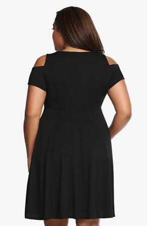 Mangolino Dress - Büyük Beden Elbise MD3800 38-60 (1)