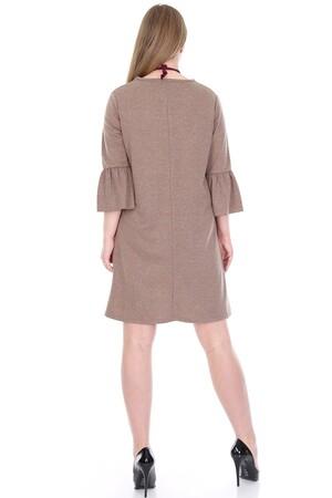 Angelino Fashion - Büyük Beden Kampanyalı Elbise KL807-19vzn (1)