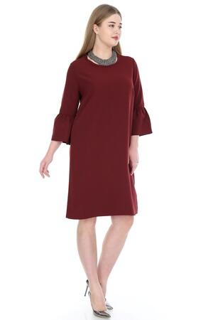 Angelino Butik - Büyük Beden Kampanyalı Elbise KL807bd (1)