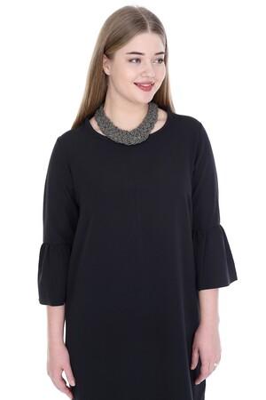 Angelino Butik - Büyük Beden Kampanyalı Elbise KL807sh (1)