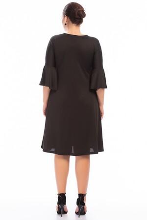 Angelino - Büyük Beden Siyah Elbise FR885 (1)