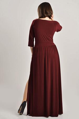 Angelino - Büyük Beden Uzun Abiye Elbise MD57 (1)