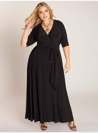 Angelino - Büyük beden Uzun Abiye Elbise MD59 (1)