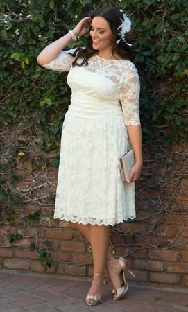 Angelino Style - Büyük Beden Wedding Gelinlik 19130907 (1)