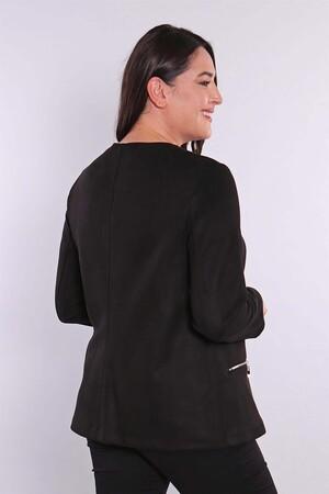 - Fermuarlı Siyah Süet Ceket (1)
