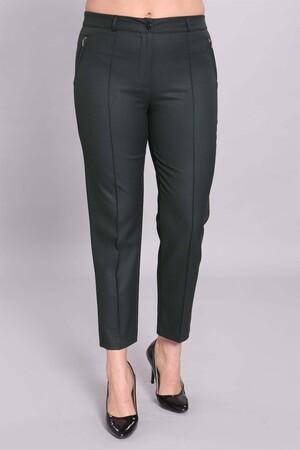 - Fermuarlı Ve Çimalı Yeşil Bilek Pantolon (1)