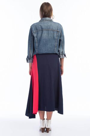 Angelino Fashion - FR04 Kadın Büyük Beden Volanlı Etek Kampanyalı (1)
