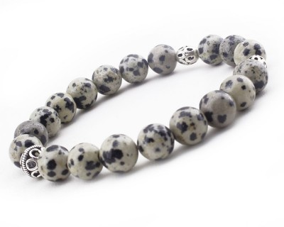 Tesbihane - Gümüşlü Jasper Doğaltaş Bileklik (1)