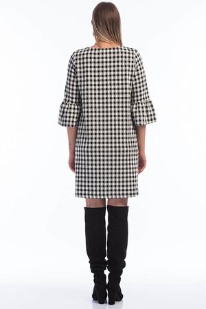 Angelino Fashion - Kadın Büyük Beden FR06 Kareli Elbise (1)