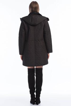 Angelino Fashion - Kadın Büyük Beden İçi Peluş Kürklü Kapşonlu Mont MD1323 Siyah (1)