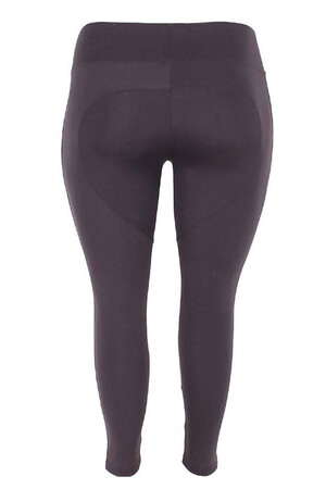 Angelino Fashion - Kadın Siyah Full Toparlayıcı Yüksek Bel Tayt 23977 (1)