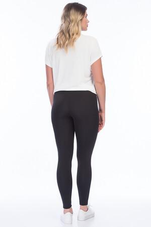 Mangolino Giyim - Kadın Siyah Toparlayıcı Yüksek Bel Tayt 23976 (1)