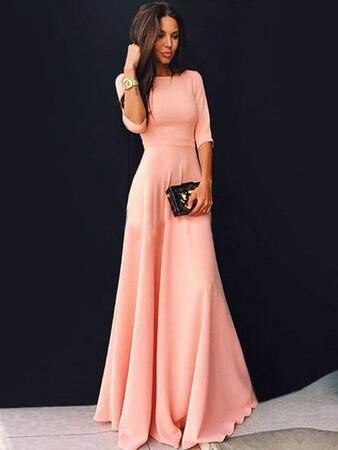 Angelino Style - KL795 Angelino Uzun Abiye Elbise (1)