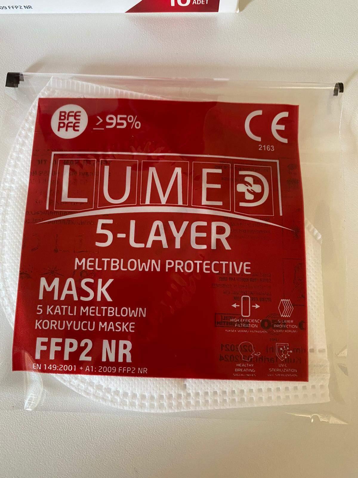 LM1 5 Katlı Meltblown Koruyucu Maske FFP2. 1 ADET