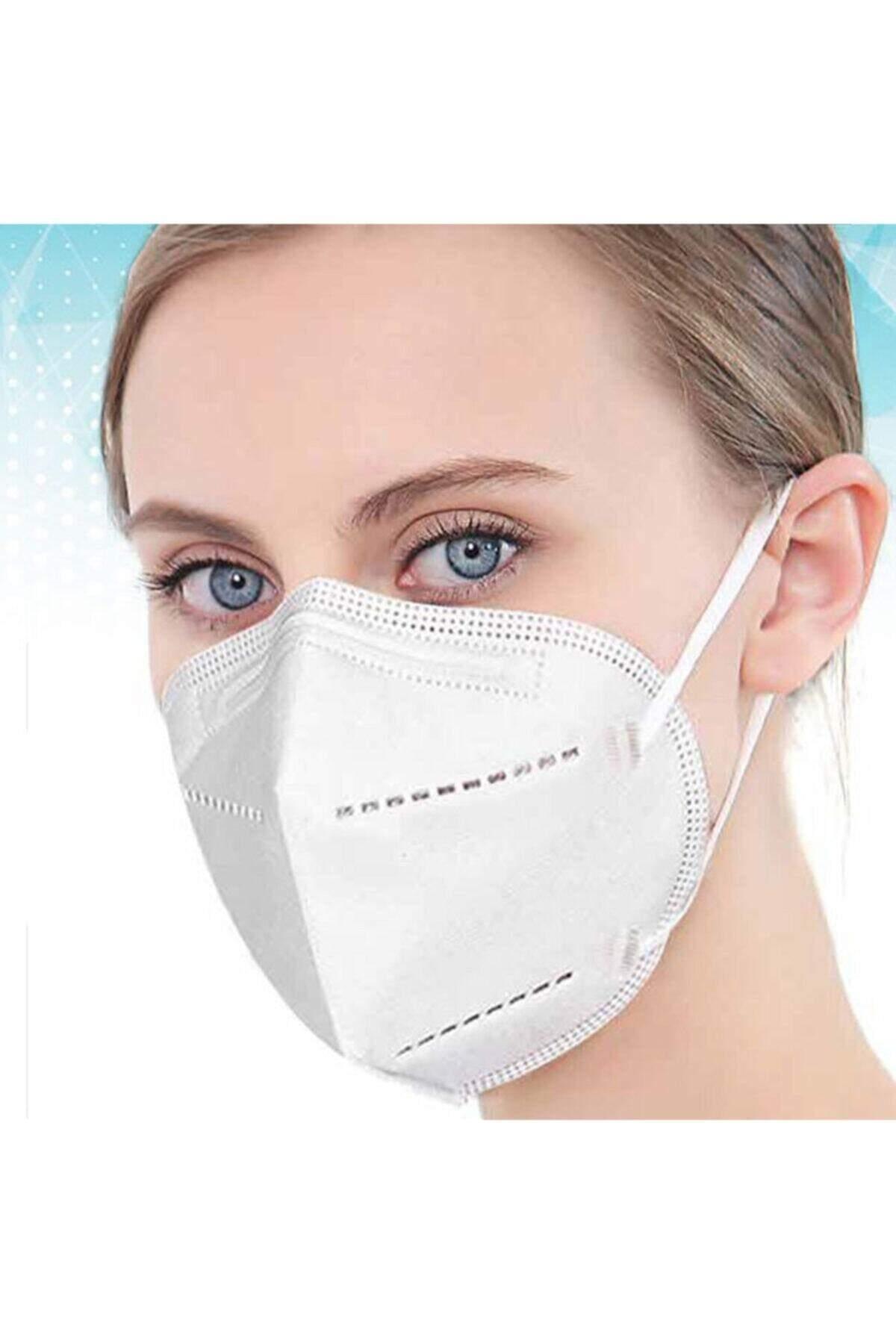 LM1 5 Katlı Meltblown Koruyucu Maske FFP2. 10 ADET