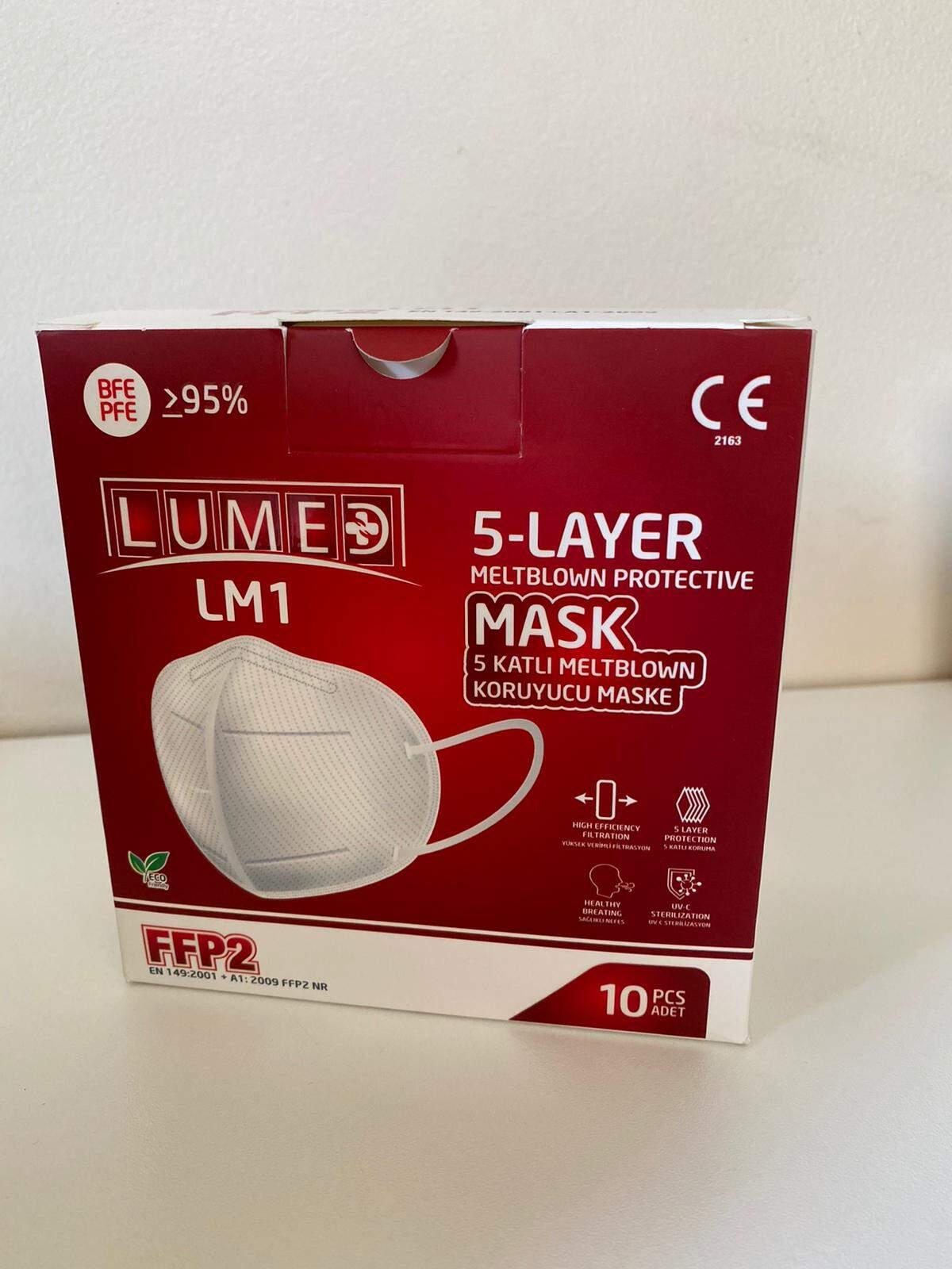 LM1 5 Katlı Meltblown Koruyucu Maske FFP2. 100 ADET