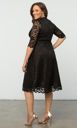 Mangolino Dress - MANGOLİNO DRESS MD70088 Abiye Elbise Siyah (1)