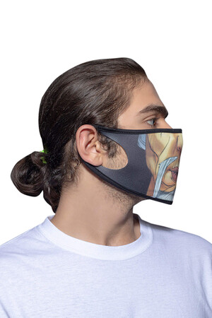 Angelino Butik - Maske Telli Yıkanabilir Biyeli US NO 03 (1)