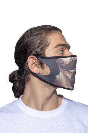 Angelino Butik - Maske Telli Yıkanabilir Biyeli US NO 04 (1)