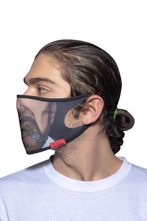 Angelino Butik - Maske Telli Yıkanabilir Biyeli US NO 07 (1)