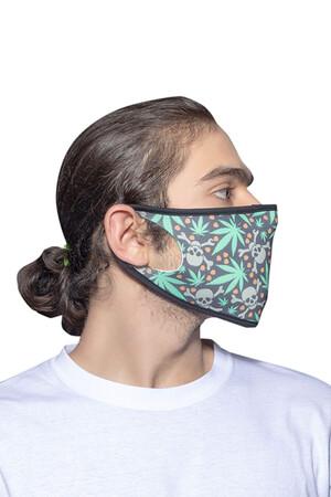 Angelino Butik - Maske Telli Yıkanabilir Biyeli US NO 13 (1)