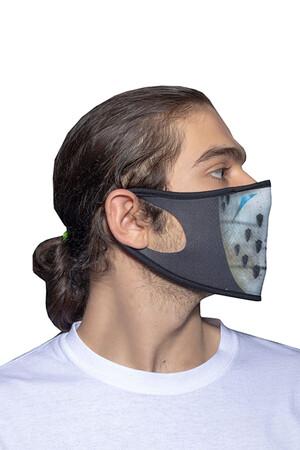 Angelino Butik - Maske Telli Yıkanabilir Biyeli US NO 14 (1)