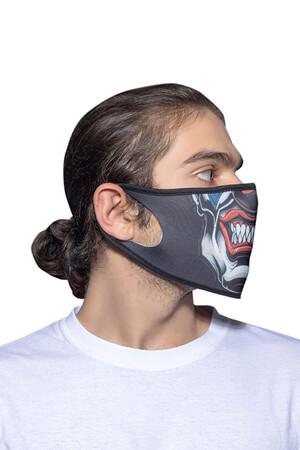 Angelino Butik - Maske Telli Yıkanabilir Biyeli US NO 17 (1)