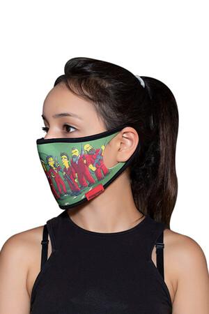 Angelino Butik - Maske Telli Yıkanabilir Biyeli US NO 18 (1)