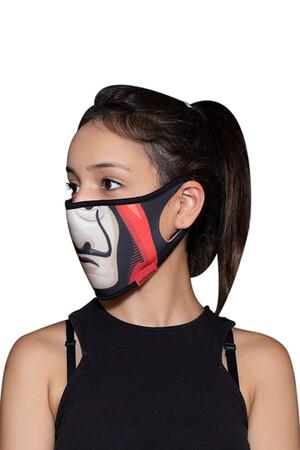 Angelino Butik - Maske Telli Yıkanabilir Biyeli US NO 19 (1)