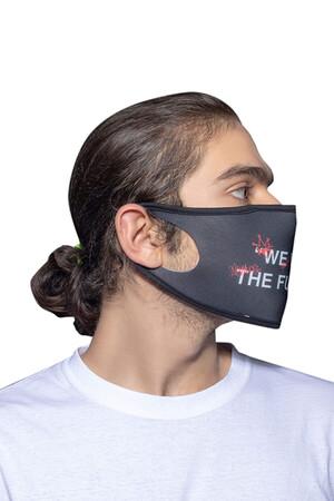 Angelino Butik - Maske Telli Yıkanabilir Biyeli US NO 21 (1)