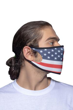 Angelino Butik - Maske Telli Yıkanabilir Biyeli US NO 23 (1)