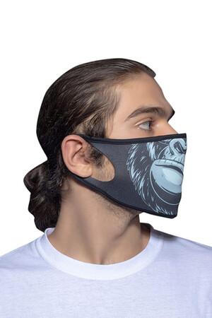 Angelino Butik - Maske Telli Yıkanabilir Biyeli US NO 25 (1)