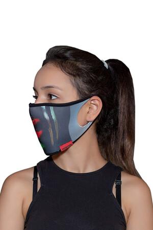 Angelino Butik - Maske Telli Yıkanabilir Biyeli US NO 30 (1)