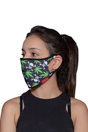 Angelino Butik - Maske Telli Yıkanabilir Biyeli US NO 32 (1)