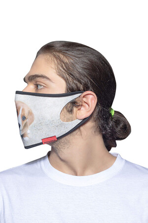 Angelino Butik - Maske Telli Yıkanabilir Biyeli US NO 33 (1)